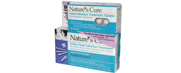 Nature's Cure Yeast Control Review